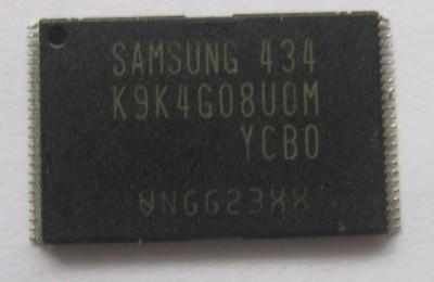 Samsung K9 series 512MB flash memory