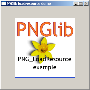 PNGlib demo application